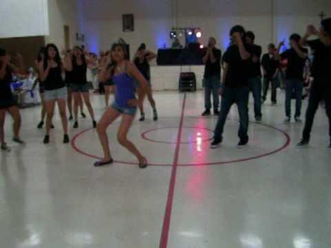 Crystal's Suprise Dance.
