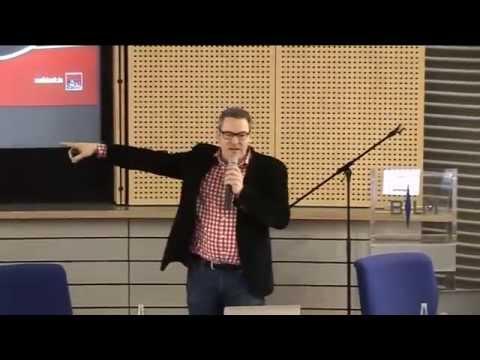 Christoph Krachten, Mediakraft Networks, auf dem Medieninnovationstag 2014