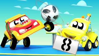 Baby Trucks - Learn to be CONFIDENT with BABY CARS - Learning cartoons with trucks in Car City