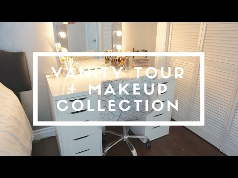 VANITY TOUR + MAKEUP COLLECTION | Monica Erlin