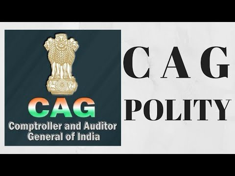 COMPTROLLER AND AUDITOR GENERAL OF INDIA  - POLITY