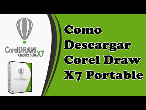 Descargar Corel Draw X7 Portable