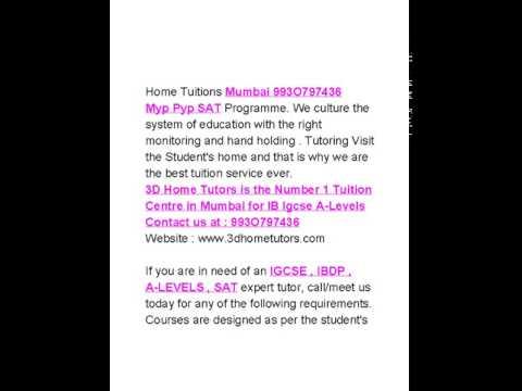 Prabhadevi Home tutors Igcse Ibdp 993O797436