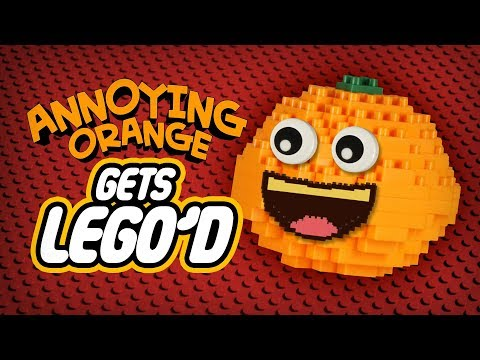 Annoying Orange Gets LEGO'd!
