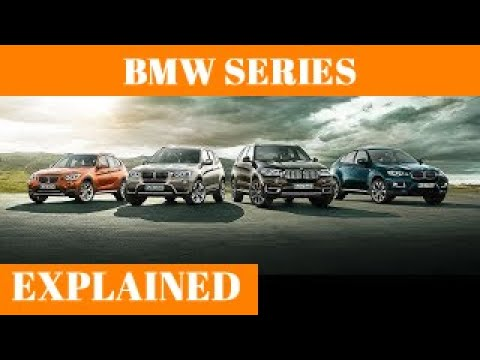 BMW Series Models Explained : BMW Models Lineup