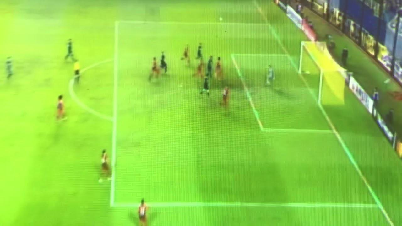 Gol Tévez Boca 2 Paranaense 1