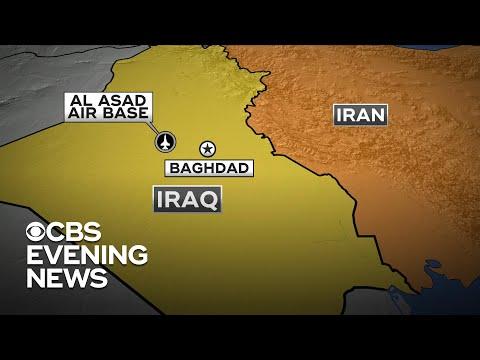 Iran strikes Al Asad Air Base home to U.S. troops in Iraq
