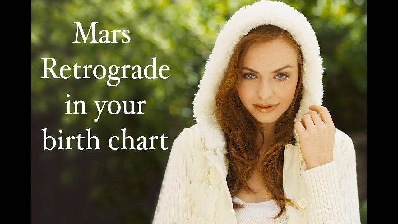 Mars retrograde in natal chart youtube mars retrograde in natal chart nvjuhfo Image collections