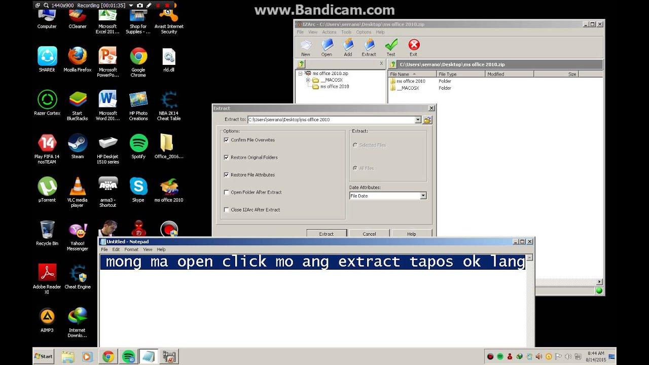 free download microsoft office 2010 for windows 8.1 64 bit