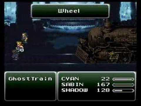 Final Fantasy VI - Ghost Train Boss 7