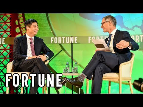 Huawei Technologies Deputy Chairman Discusses All Things 5G Technology | Fortune Global Forum 2019