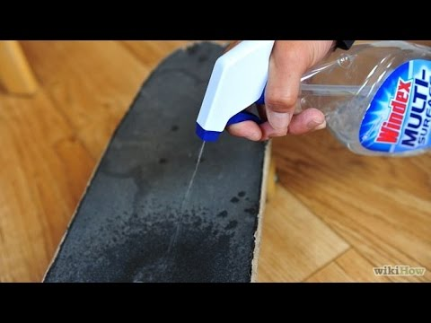 How to Properly Clean Your SkateBoard/GripTape