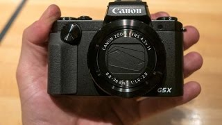 Canon PowerShot G5 X Hands on & Quick Reviews || Features,Specs 20.2MP 1-inch Sensor Boost