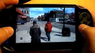 Watch Dogs   PS Vita Remote Play   Gameplay