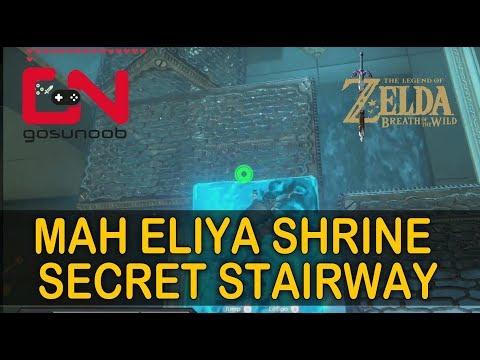 Zelda BotW Mah Eliya shrine solution – Secret Stairway Champion's Ballad DLC