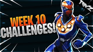 ALL FORTNITE WEEK 10 CHALLENGES LEAKED! THE FINAL WEEK OF SEASON 4! (Fortnite Battle Royale Switch)