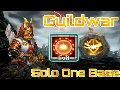 Guildwar - Ronin Bomb | 8/8 Scorch With 5 Survival | Vs No.1 Guild | Top-5 | Castle Clasu