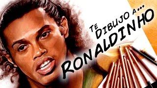 Te dibujo a Ronaldinho / Drawing Ronaldinho