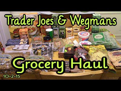 Grocery Haul ~ Trader Joes, Wegmans ~ October 2nd 2015