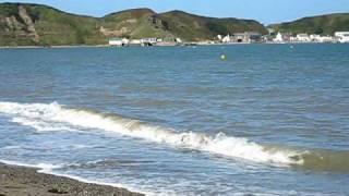 Morfa Nefyn Beach (Lon Bridin) Pwllheli, Gwynedd. North West Wales.