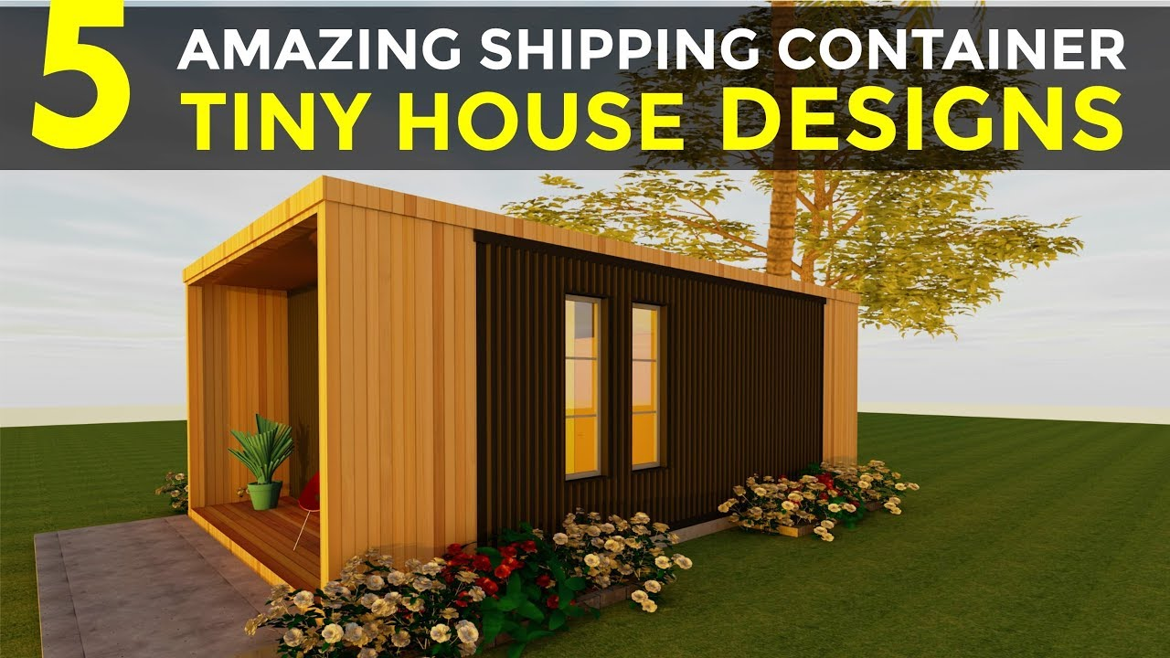 5 Amazing Shipping Container Tiny House Designs Floor
