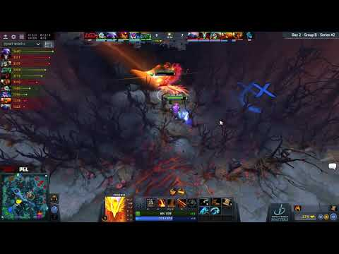 (Perfect World Masters) LGD vs Newbee - Kaka great escape!