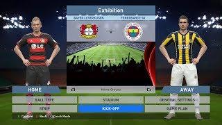 Bayer Leverkusen vs Fenerbahce SK, BayArena, PES 2016, PRO EVOLUTION SOCCER 2016, Konami