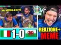 ITALIA vs GALLES 1-0 - EURO 2020 REAZIONE del WEB ai MEME! (giocate rischiate)