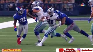 Ezekiel Elliott vs Giants (SNF Week 1) - 104 Yards! | 2017-18 NFL Highlights HD