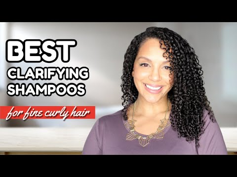 Best GENTLE Clarifying Shampoos For Fine Curly Hair | DISCOCURLSTV