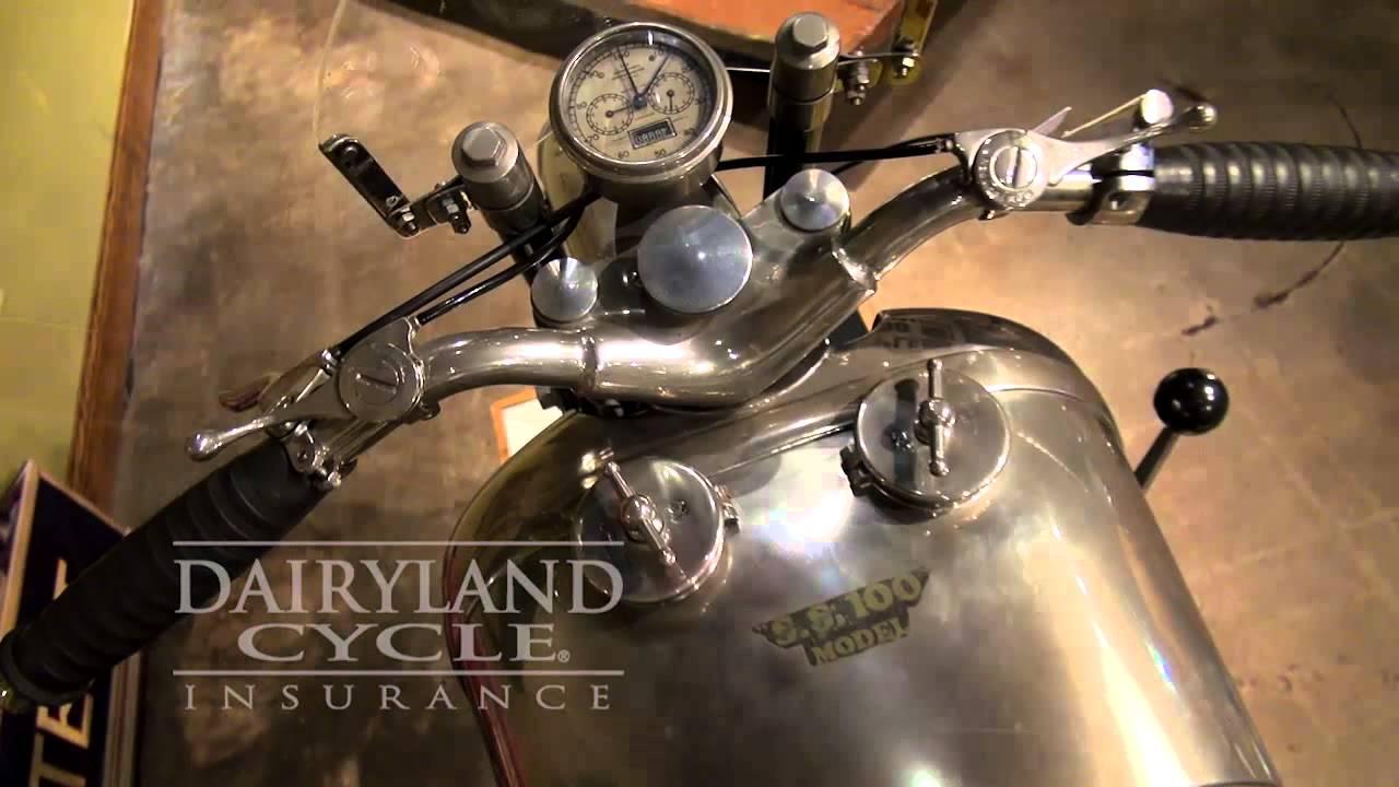 1952 Brough Superior Pendine SS100 via Dairyland Insurance ...