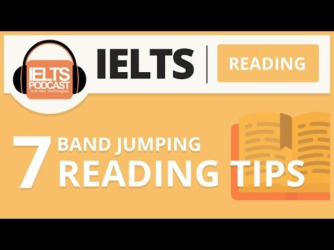 IELTS Simon The 10 Types of Reading Questions