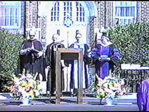 Concordia High School Edmonton - Grad Commencement 1985