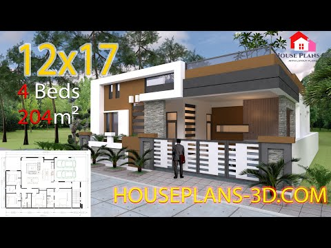House Plan 40x60 | 4 Bedrooms | One Story House
