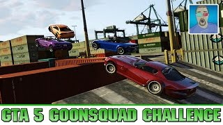 THE #GOONSQUAD GTA 5 RACE CHALLENGE Part 1 - Loser has to Drink a Raw Egg