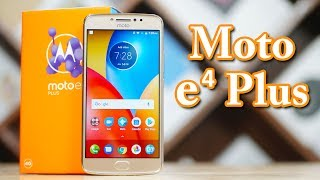 Moto E4 Plus - 5000 mAh Budget Beast!!! Unboxing & Hands on