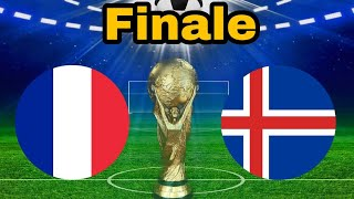 Frankreich gegen Island |⚽ Finale im WM Modus in Fifa 18
