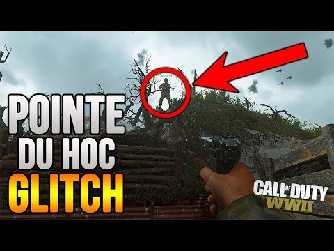 "Call Of Duty: WW2 *NEW* GLITCH in ""POINTE DU HOC"""