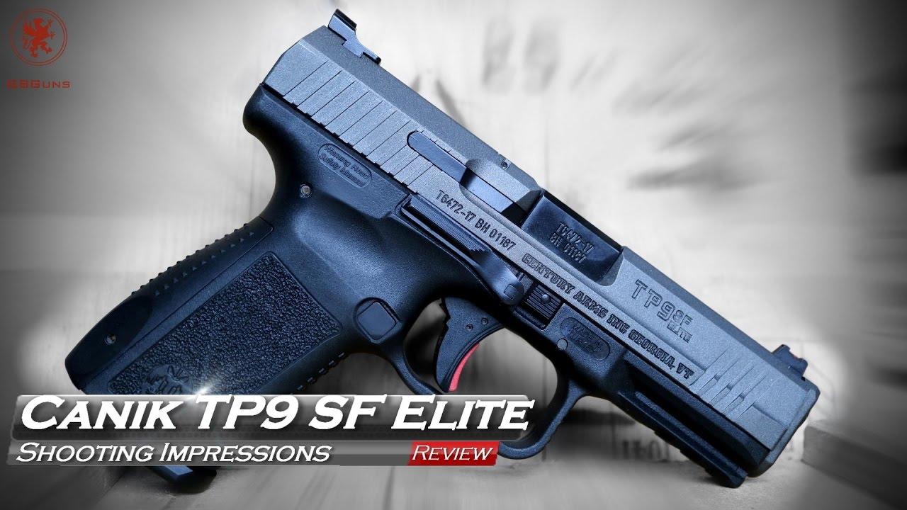 Canik TP9SF Elite Handgun Review : Impressive Value