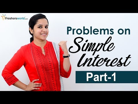 Aptitude Made Easy - Simple Interest – Part 1, Basics and Methods, Shortcuts, Tricks