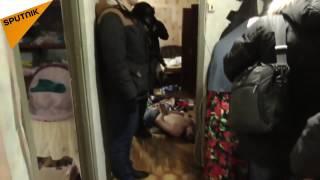 بالفيديو: الأمن الروسي يقبض على 20 متطرفاً في موسكو