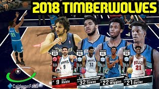 2018 TIMBERWOLVES SQUAD WITH JIMMY BUTLER! NBA 2K17 MYTEAM ONLINE GAMEPLAY