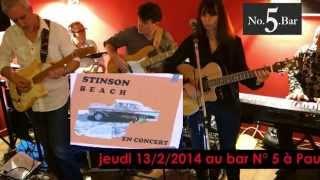 Stinson Beach groupe, à Pau, Bar No. 5