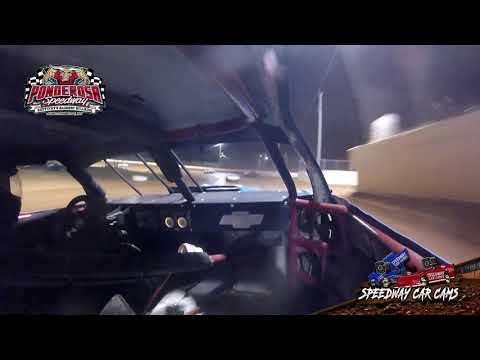 #4 Kevin Switzer - Hobby Stock - 8-2-19 Ponderosa Speedway - In-Car Camera
