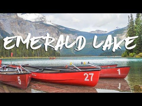EMERALD LAKE & LEAVING THE ROCKIES