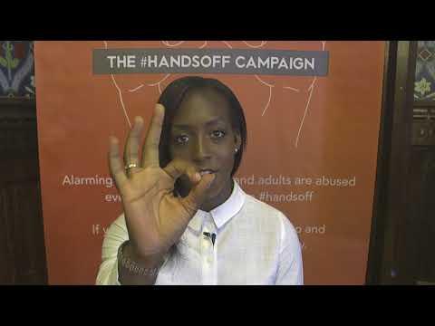 HANDSOFF Campaign   Video  Danielle Carter, Footballer, Arsenal & England