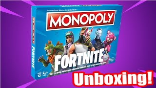 Fortnite Monopoly Unboxing! (Deutsche Version) | Deutsch/German