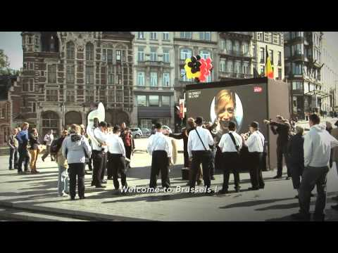Take a look at Brussels with TGV
