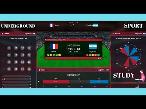 FRANCE VS ARGENTINA 2018 ♛ WORLD CUP 2018 LIVE ♛ FOOTBALL LIVE STREAM PREDICTION WIN PROBABILITY