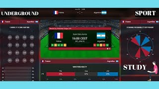 FRANCE VS ARGENTINA 2018 ♛ WORLD CUP 2018 LIVE ♛ FOOTBALL LIVE STREAM PREDICTION WIN PROBABILITY